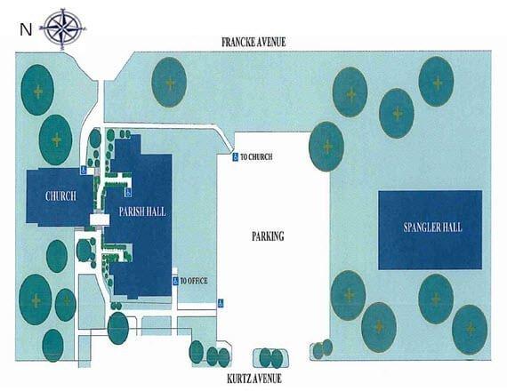 St. Paul's Campus Map
